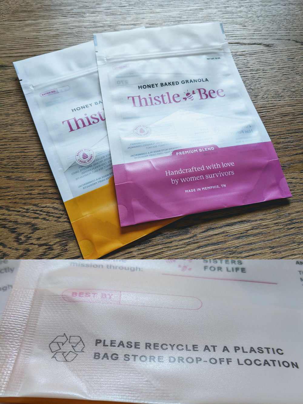 thistle-and-bee_recyclable-stand-up-pouch_granola