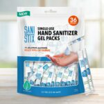 hand sanitizer packaging stick pack pouch